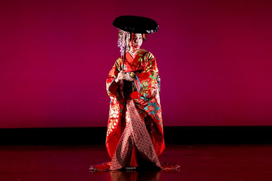 Fujimusume (Wisteria Maiden)